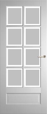 Weekamp WK6562 A1 Satijn Facetglas binnendeur