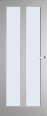 Weekamp WK6572 A1 Blank glas binnendeur