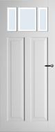Weekamp WK6532 B2 Blank facetglas binnendeur