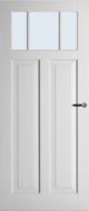 Weekamp WK6532 B2 Blank glas binnendeur
