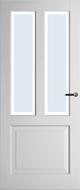 Weekamp WK6552 B2 Blank facetglas binnendeur