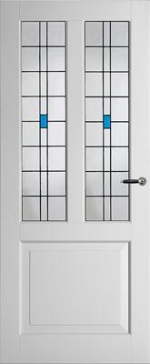 Weekamp WK6552 B2 Glas in lood 3 binnendeur