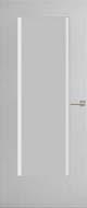 Weekamp WK6502 C3 Inclusief satijn glas met heldere bies binnendeur