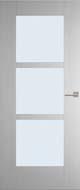 Weekamp WK6504 C inclusief blank glas binnendeur