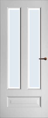 Weekamp WK6865 D2 Blank facetglas binnendeur