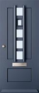 Austria Warmond blank isolatieglas buitendeur