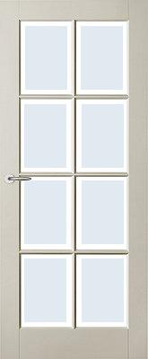 Austria Fremont voorgelakt (uitlopend) Blank Facetglas binnendeur