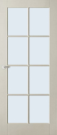Austria Fremont voorgelakt (uitlopend) Blank glas binnendeur