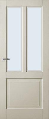 Austria New York voorgelakt Blank glas binnendeur
