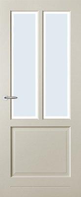 Austria Brest Blank Facetglas binnendeur
