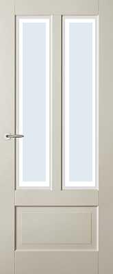 Austria Fresno Blank Facetglas binnendeur