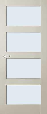 Austria Jersey Blankglas binnendeur