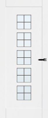Bruynzeel BRZ 23 002 Blank glas in lood binnendeur