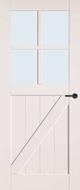 Bruynzeel BRZ 22 404 inclusief blankglas binnendeur