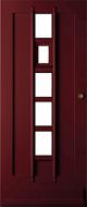Bruynzeel BRZ 43 310 blank afgelakt zonder glas buitendeur