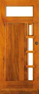 Bruynzeel BRZ 43 313 blank afgelakt zonder glas buitendeur