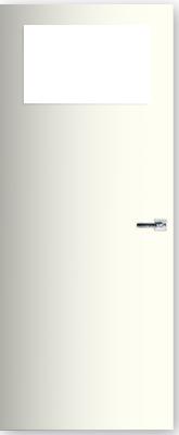 CanDo Boarddeur Superior met kleine glasopening binnendeur