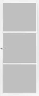 CanDo Dover Wit Satijn glas binnendeur