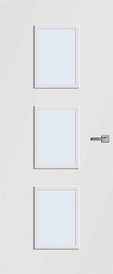 CanDo Caracas Wit Blank glas binnendeur