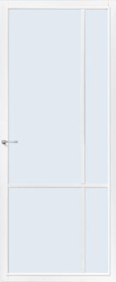 CanDo Lincoln Wit Blank glas binnendeur