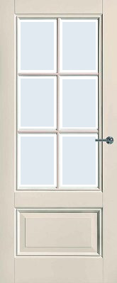 CanDo Naarden Blank Facetglas binnendeur