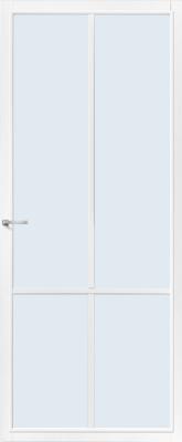 CanDo Topeka Wit Blank glas binnendeur