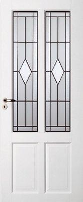 Skantrae SKS 1242 Glas in lood 12 binnendeur