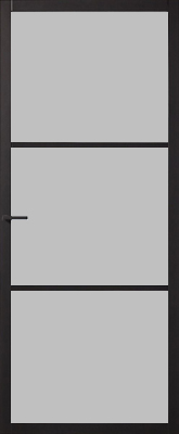 Skantrae SSL 4003 25 mm Roedes Nevelglas binnendeur