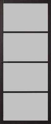 Skantrae SSL 4004 25 mm Roedes Nevel glas binnendeur