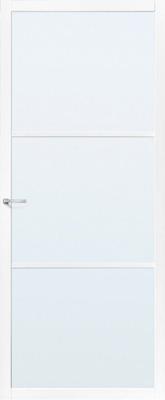 Skantrae SSL 4423 45 mm roedes Blank glas binnendeur