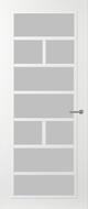 Svedex FR505W Satijn glas binnendeur
