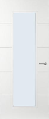 Svedex Linea AL54 Blank glas binnendeur