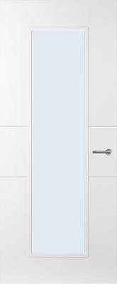Svedex Linea AL55 Blank glas binnendeur