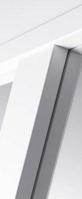 Svedex Connect CN02 Gezandstraald glas met blankglas rand detail 3