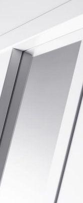 Svedex Connect CN02 Gezandstraald glas met blankglas rand detail 1
