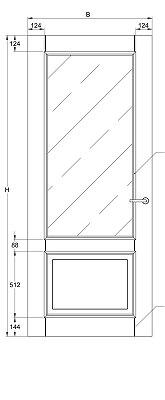 Svedex Character CA03 Blank Facetglas detail 3