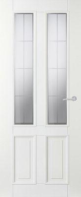 Svedex Character CA04 8 vlaks satijn met blanke lijnen binnendeur