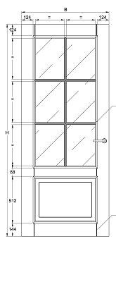 Svedex Character CA13 Blank Facetglas detail 3