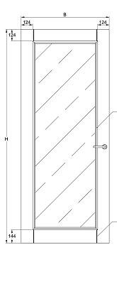 Svedex Character CA16 Blank Facetglas detail 3