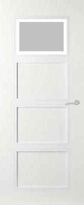 Svedex Elite AE48 Gezandstraald glas met blankglas rand binnendeur