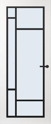 Svedex FR500Z Blank glas binnendeur