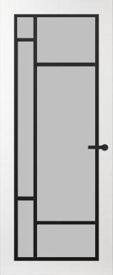 Svedex FR500Z Satijn glas binnendeur