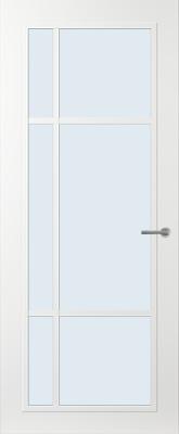 Svedex FR501W Blank glas binnendeur