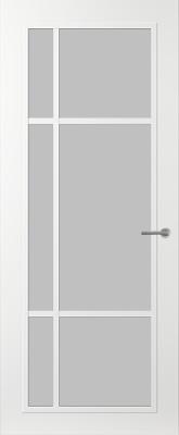 Svedex FR501W Satijn glas binnendeur