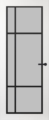 Svedex FR501Z Satijn glas binnendeur