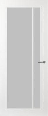 Svedex FR502W Satijn glas binnendeur