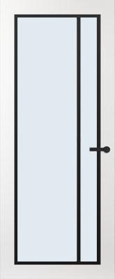Svedex FR502Z Blank glas binnendeur