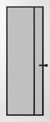 Svedex FR502Z Satijn glas binnendeur