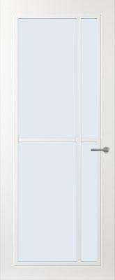 Svedex FR503W Blank glas binnendeur