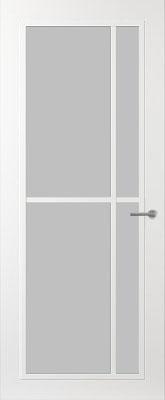 Svedex FR503W Satijn glas binnendeur